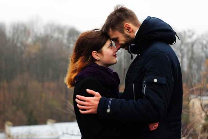 glückliche Fernbeziehung
