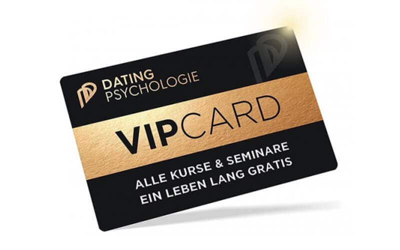 Dating-Psychologie-VIP-Card Estefano VIP Ticket